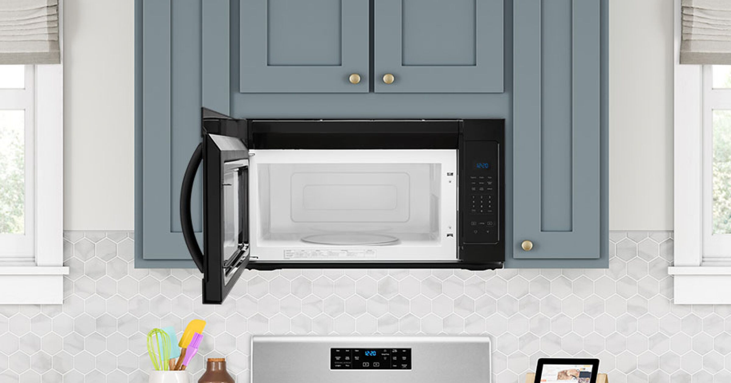 How To Clean A Microwave Inside And Out