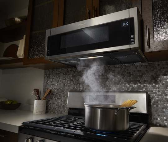 1 1 Cu Ft Low Profile Microwave Hood Combination Whirlpool