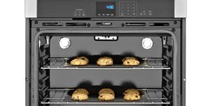 Largest capacity wall oven available