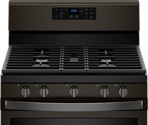 Matte Black Kitchen Ranges And Other Appliances From Whirlpool.