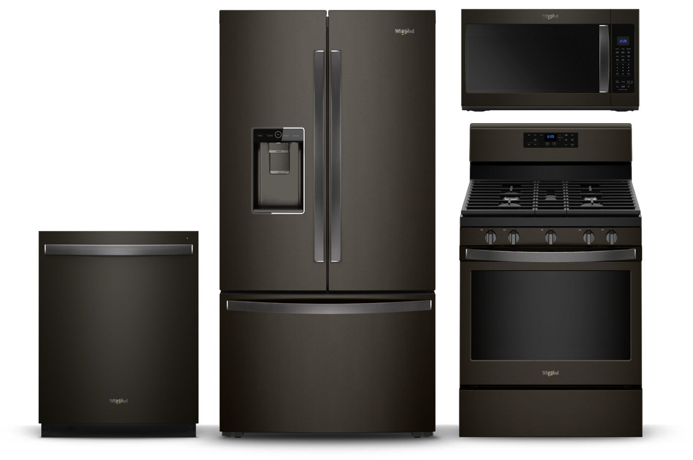 With Black Stainless Steel