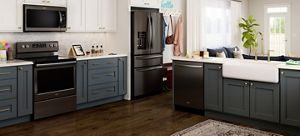 Delicieux Fingerprint Resistant Black Stainless Steel Appliances From Whirlpool.