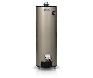 Whirlpool® water heaters.
