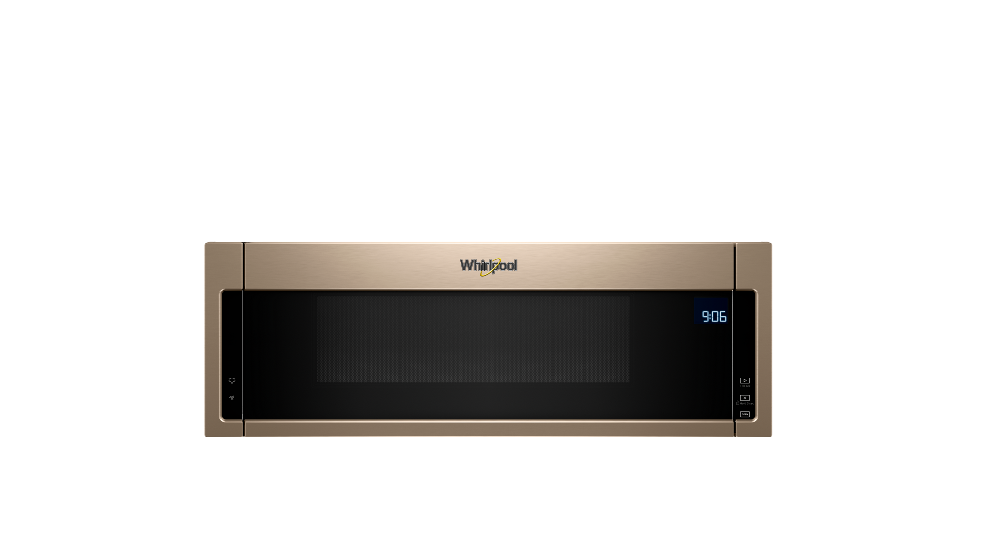 Learn more about Whirlpool's new space-saver microwave.