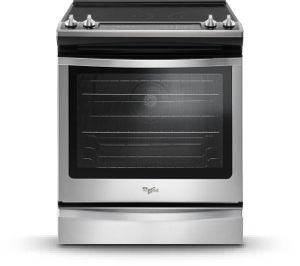 Slide In Kitchen Ranges From Whirlpool.