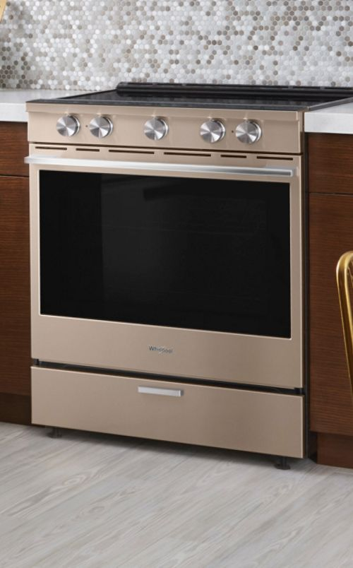 Get the best range for even cooking from Whirlpool.