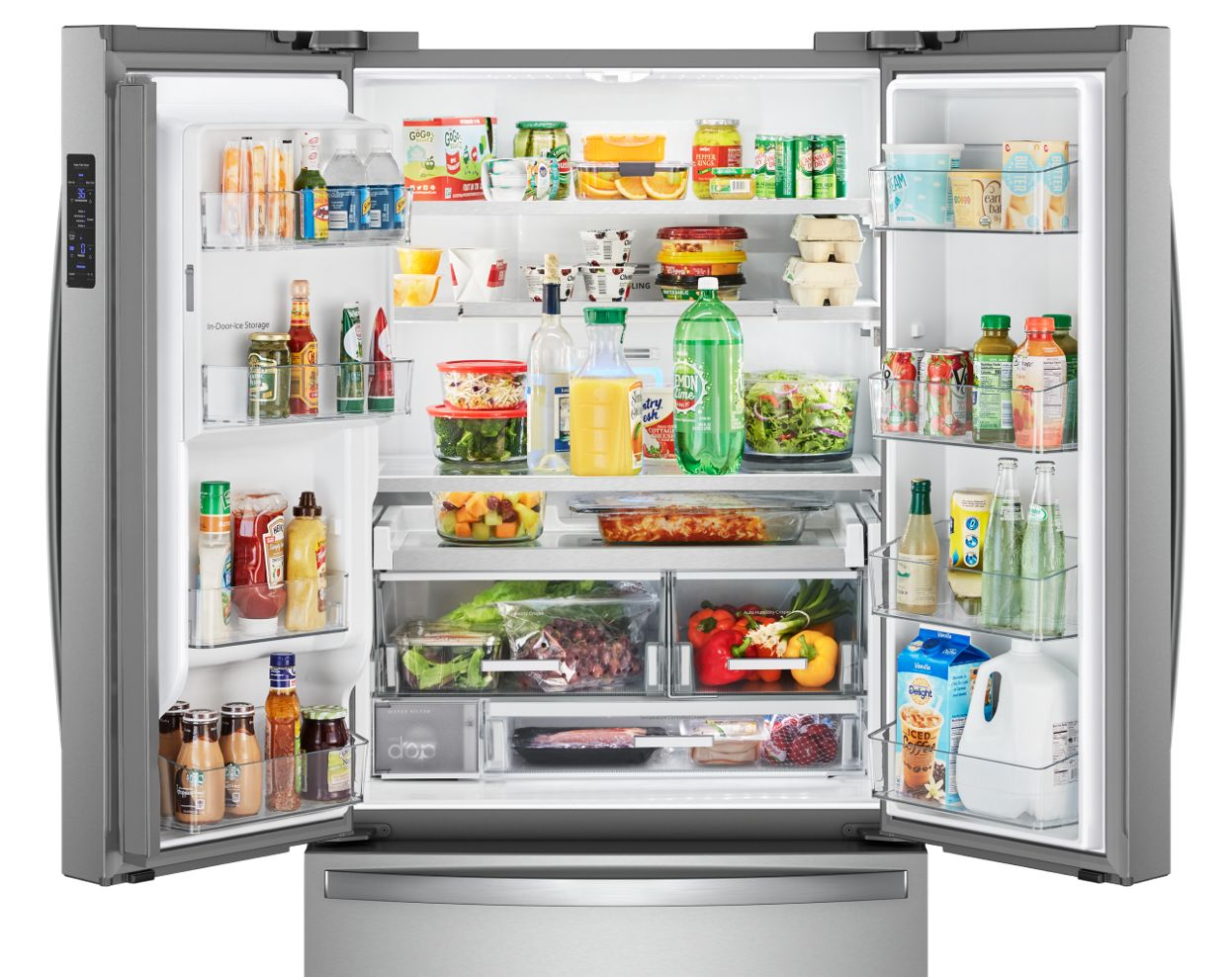 Refrigeration Whirlpool Refrigerator Parts Diagram On Compressor At Our French Door Selection Lets You Choose The Best For Your Home