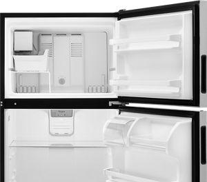 topfreezer options from whirlpool provide simplistic storage
