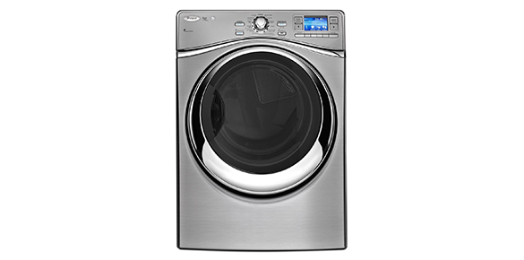 whirlpool smart front load electric dryer