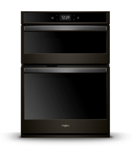 Black Stainless Steel Combination Wall Oven