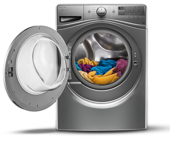 Laundry machines washers and dryers whirlpool - Protect clothes colors washing ...