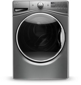4.2 cu.ft Front Load Washer with Load & Go™, 12 cycles.