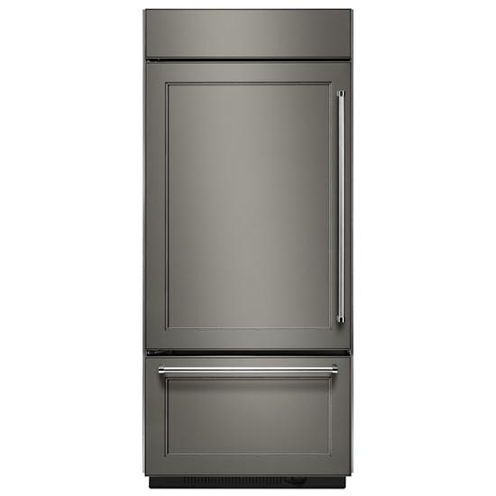 Built-In Panel Ready Bottom Mount Refrigerator 20.9 Cu. Ft. 36