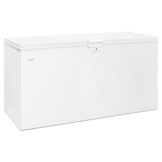 Model: WZC3122DW   Whirlpool 22 cu. ft. Chest Freezer with Extra-Large Capacity