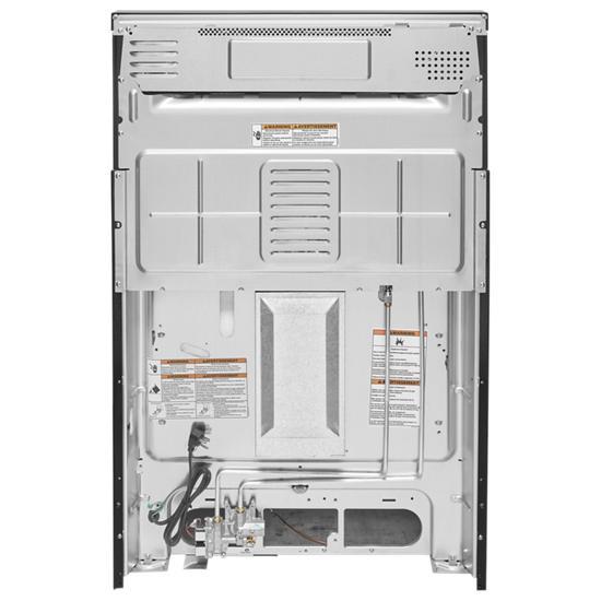 Model: KFGG500EBS   KitchenAid 30-Inch 5-Burner Gas Convection Range