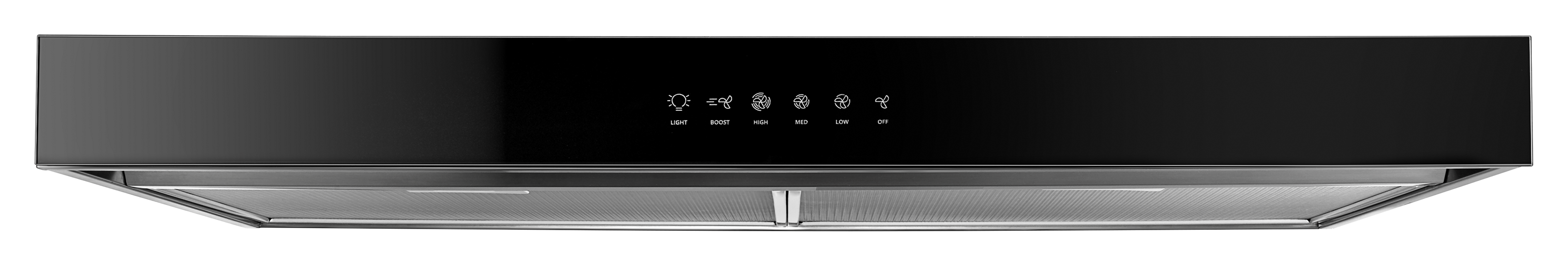 30 Quot Range Hood With Boost Function Whirlpool