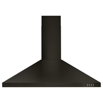 "36"" Contemporary Black  Stainless Wall Mount Range Hood"