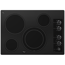 "Gold® 30-inch Electric Ceramic Glass Cooktop with 12""/9"" Dual Radiant Element"