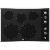 30 Inch Electric Ceramic Glass Cooktop Whirlpool