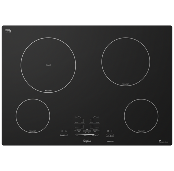 Amazing Electric Induction Cooktop Part - 5: Whirlpool