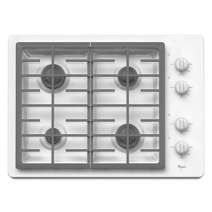 30-inch Gas Cooktop with two 12,500 BTU Power™ Burners