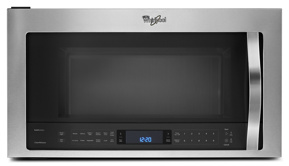 2 1 Cu Ft Capacity Steam Microwave With Steamclean