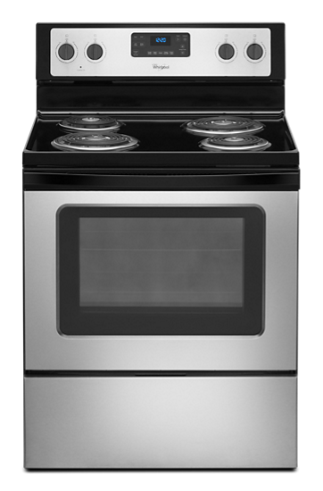 Www Whirlpool Com >> 4.8 Cu. Ft. Freestanding Electric Range with AccuBake® System | Whirlpool