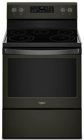 53 cu ft electric range with frozen bake technology