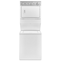 2.3 cu.ft Electric Stacked Laundry Center 8 Wash cycles and AutoDry™