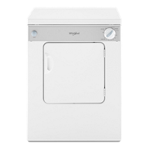 3.4 cu. ft. Compact Electric Dryer with AccuDry™ Drying System