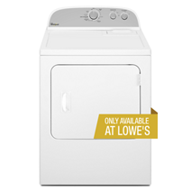 7.0 cu. ft. Electric Dryer with Heavy Duty Cycle