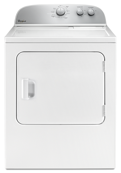 Whirlpool Drying Cabinet ~ Cu ft top load electric dryer with autodry™ drying