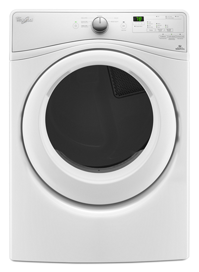 7 4 Cu Ft Front Load Electric Dryer With Advanced Moisture