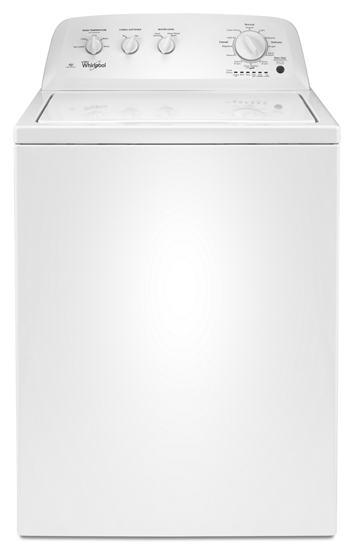 hero WTW4616FW.tif?$PDP PRODUCT IMAGE$ 3 5 cu ft he top load washer with water selection, 12 cycles  at edmiracle.co