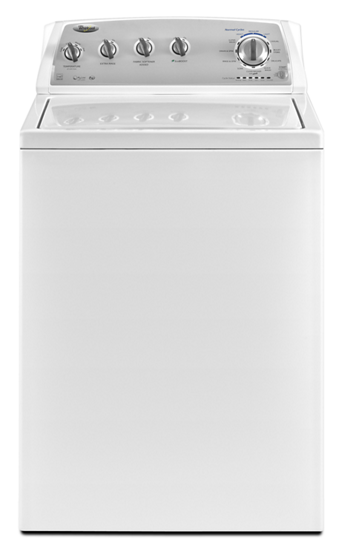 hero WTW4950XW.tif?$PDP PRODUCT IMAGE$ 3 6 cu ft high efficiency top load washer with h2low™ wash  at edmiracle.co