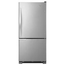 30-inches wide Bottom-Freezer Refrigerator with Accu-Chill™ System - 18.7 cu. ft.