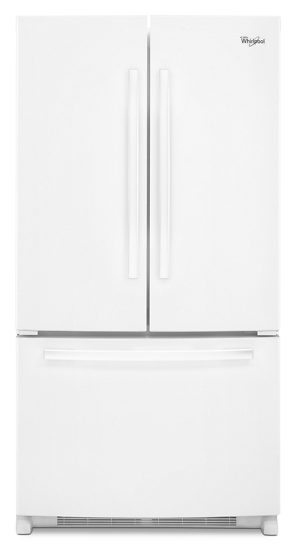 36 inch wide french door refrigerator with interior water dispenser 25 cu ft whirlpool for Interior water dispenser refrigerator