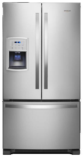 Superior 36 Inch Wide Counter Depth French Door Refrigerator   20 Cu. Ft.