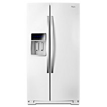 36-inch Wide Side-by-Side Counter Depth Refrigerator with StoreRight™ Dual Cooling System - 20 cu. ft.