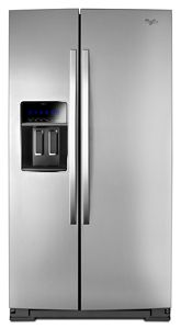 21 cu. ft. Counter Depth Side-by-Side Refrigerator with In-Door ...