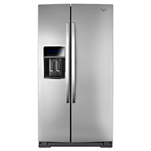 36 Inch Wide Side By Side Refrigerator With Temperature