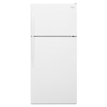 28-inches wide Top-Freezer Refrigerator with Optional Icemaker - 14 cu. ft.