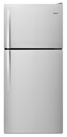 hero WRT318FZDM.tif?$PDP PRODUCT IMAGE$ 30 inch wide top freezer refrigerator 18 cu ft whirlpool  at soozxer.org