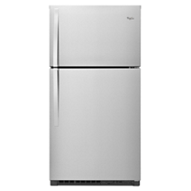 33-inch Wide Top-Freezer Refrigerator with LED Interior Lighting - 21.3 cu. ft.