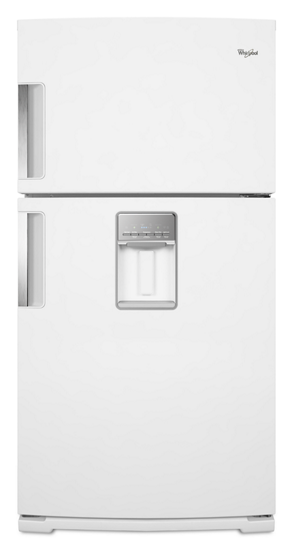 Gold 174 21 Cu Ft Top Freezer Refrigerator With Exterior