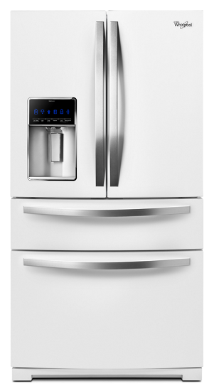 Www Whirlpool Com >> 36-inch Wide French Door Refrigerator with External Refrigerated Drawer - 25 cu. ft. | Whirlpool