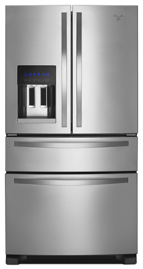 36-inch Wide French Door Refrigerator with External Refrigerated ...