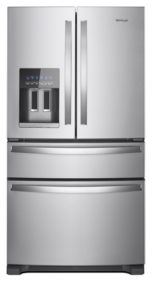 36 Inch Wide French Door Refrigerator 25 Cu Ft Whirlpool