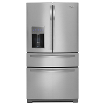 36-inch Wide 4-Door Refrigerator with More Flexible Storage<sup>10</sup> - 26 cu. ft.